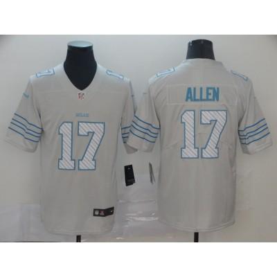 NFL Buffalo Bills 17 Josh Allen City Edition White Jersey
