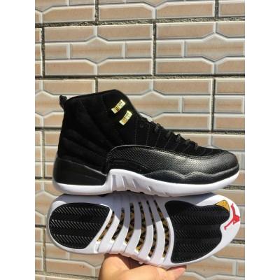 Air Jordan 12 Black Cat Shoes