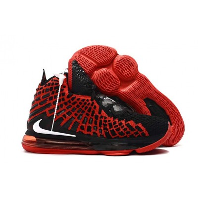 Nike LeBron 17 Black Red Shoes