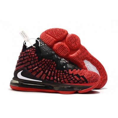Nike LeBron 17 Red BLACK Shoes