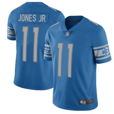 Nike Lions 11 Marvin Jones Jr. Blue Vapor Untouchable Limited Men Jersey