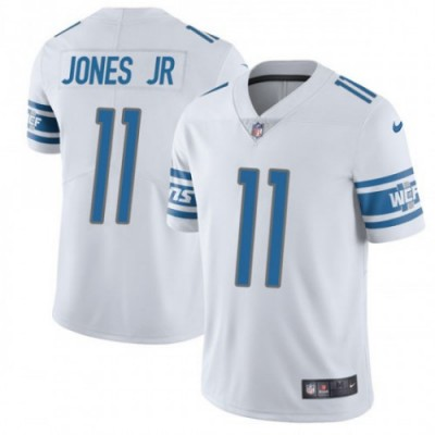 Nike Lions 11 Marvin Jones Jr. White Vapor Untouchable Limited Men Jersey