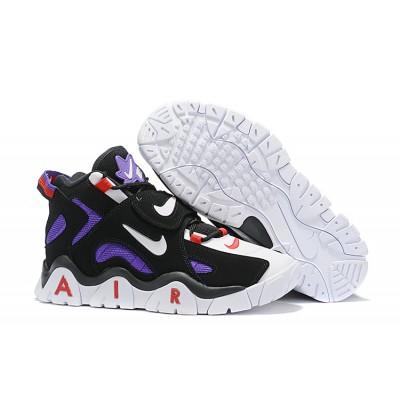 Nike Air More Uptempo Black Purple Shoes