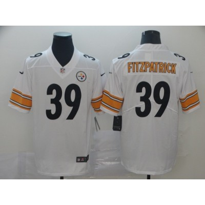 Nike Steelers 39 Minkah Fitzpatrick White Vapor Untouchable Limited Men Jersey