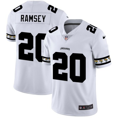 Nike Jaguars 20 Jalen Ramsey White 2019 New Vapor Untouchable Limited Men Jersey