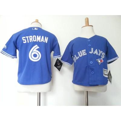 MLB Blue Jays 6 Marcus Stroman Blue Toddler Jersey