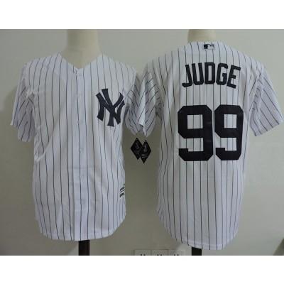 MLB Yankees 99 Aaron Judge Toddler Jersey(with name)