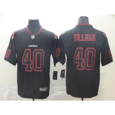 Nike Cardinals 40 Pat Tillman Black Shadow Legend Limited Men Jersey