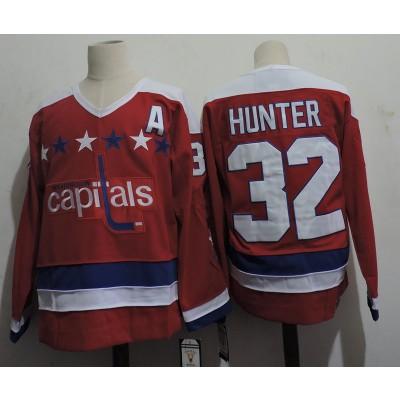 NHL Washington Capitals 32 Hunter Red Men Jersey