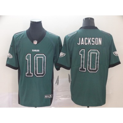 Nike Eagles 10 DeSean Jackson Green Drift Fashion Vapor Limited Men Jersey