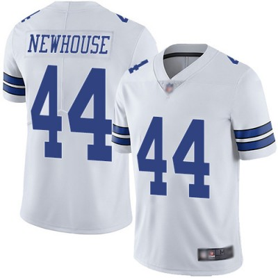 Nike Cowboys 44 Robert Newhouse White Vapor Untouchable Limited Men Jersey