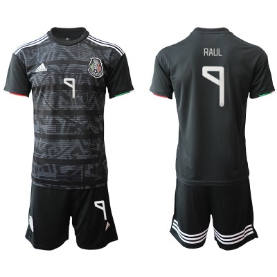 2019-20 Mexico 9 RAUL Home Soccer Men Jersey
