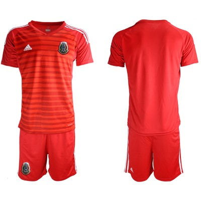2019-20 Mexico Red Goalkeeper Soccer Men Jersey