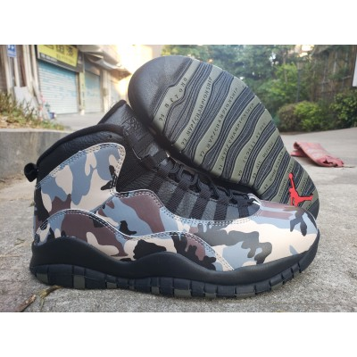 Air Jordan 10 Camo Shoes
