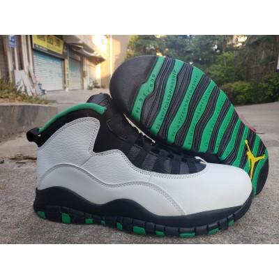 Air Jordan 10 White Shoes