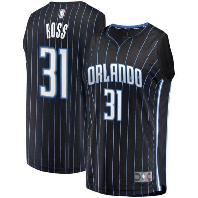 NBA Orlando Magic 31 Terrence Ross Black Men Jersey