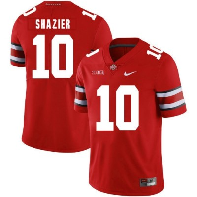 NCAA Ohio State Buckeyes 10 Ryan Shazier Red Limited Men Jersey