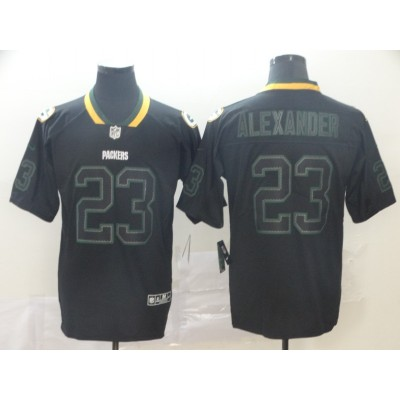 Nike Packers 23 Jaire Alexander Black Shadow Limited Men Jersey