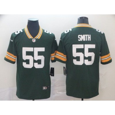 Nike Packers 55 Za'Darius Smith Green Vapor Untouchable Limited Men Jersey