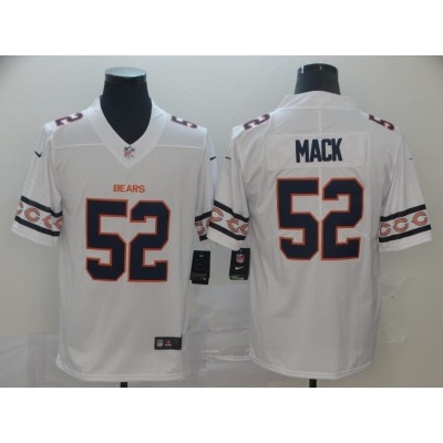 Nike Bears 52 Khalil Mack 2019 New Team Logo Vapor Limited Men Jersey