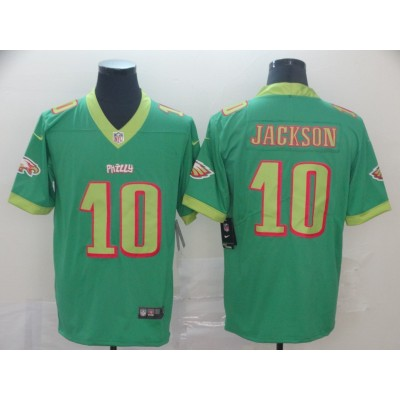 Nike Eagles 10 DeSean Jackson Green City Edition Vapor Untouchable Limited Men Jersey