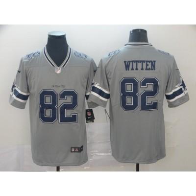 Nike Cowboys 82 Jason Witten Inverted Legend Limited Men Jersey