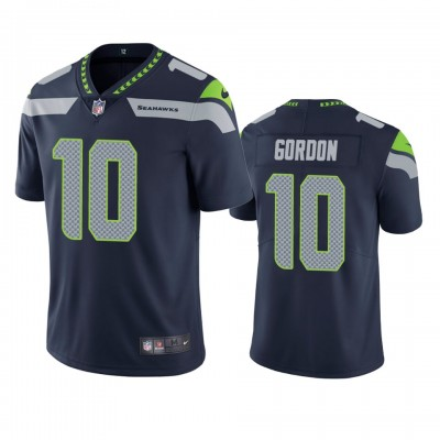Nike Seahawks 10 Josh Gordon Blue Vapor Untouchable Limited Men Jersey