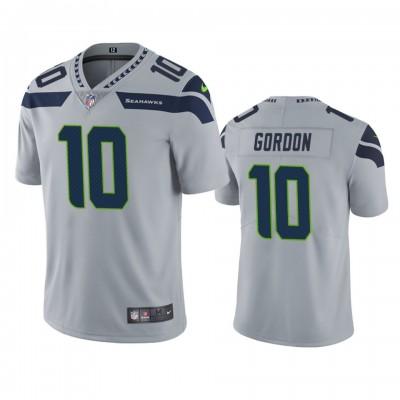 Nike Seahawks 10 Josh Gordon Grey Vapor Untouchable Limited Men Jersey