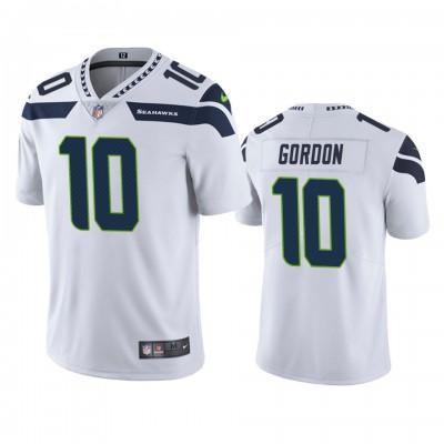 Nike Seahawks 10 Josh Gordon White Vapor Untouchable Limited Men Jersey