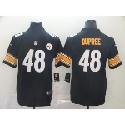Nike Steelers 48 Bud Dupree Black Vapor Untouchable Limited Men Jersey