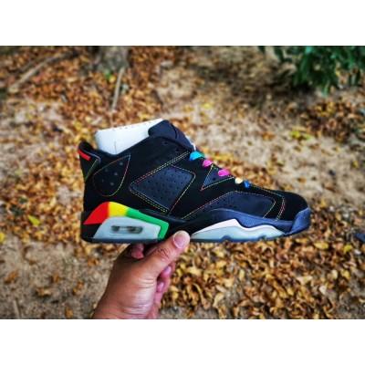 Air Jordan 6 Black Low Shoes