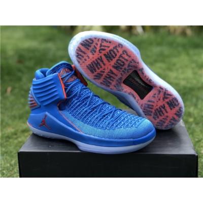 Air Jordan 32 PE Blue Shoes