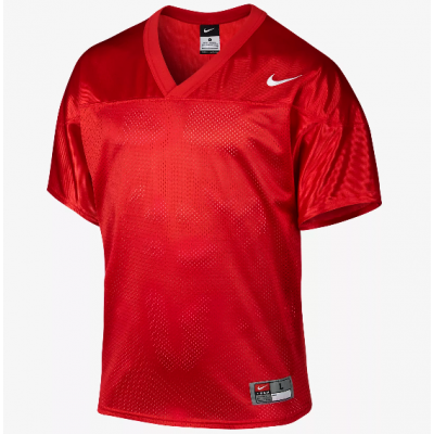 Nike Core Practice Red Customized Football Men Jersey
