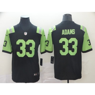 NFL New York Jets 33 jamal adams City edition black green jersey