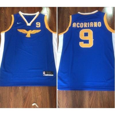 NBA Warriors Blue Customized Men Jersey