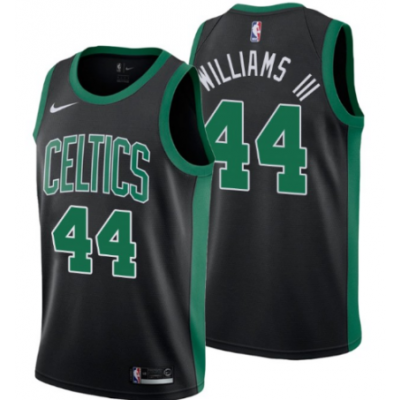 NBA Celtics 44 Robert Williams III Black 2018 Draft Nike Men Jersey