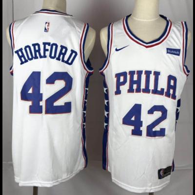 NBA Philadelphia 76ers 42 Al Horford White Nike Men Jersey