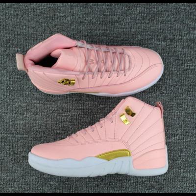 Air Jordan 12 Pink Valentines Day Shoes