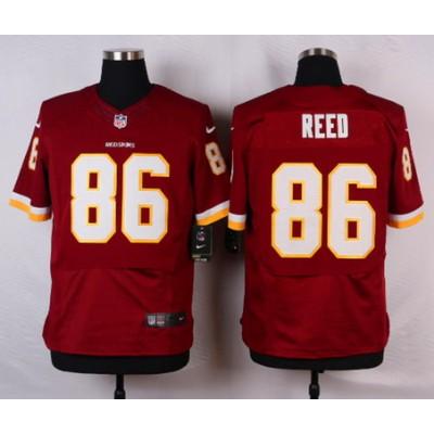 NFL Washington Redskins 86 Jordan Reed Red Youth Jersey