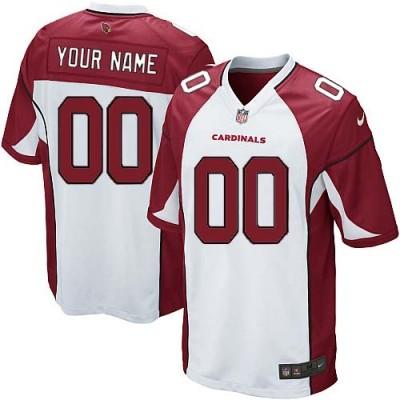 Nike Arizona Cardinals Customized White Elite Youth NFL personalized Jerseys