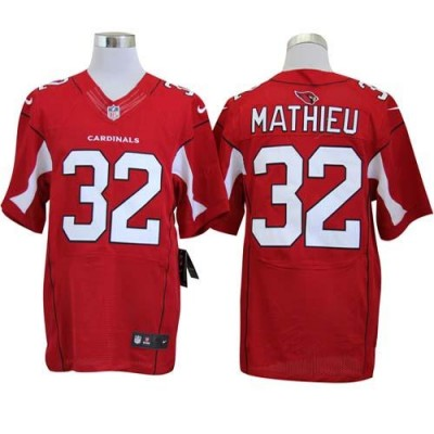 Nike Cardinals 32 Tyrann Mathieu Red  Stitched NFL Elite jersey