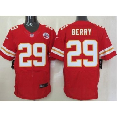 Nike Kansas City Chiefs No.29 Eric Berry Red Elite Stitched Football Jersey