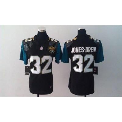 Nike Jerseys Jaguars #32 Maurice Jones-Drew Black Alternate Women's  Football Elite