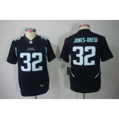 Youth Nike Jacksonville Jaguars 32 Maurice Jones-Drew Black NFL Limited Jersey