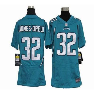 Youth Nike Jacksonville Jaguars 32 Maurice Jones-Drew Teal Green NFL Elite Jersey