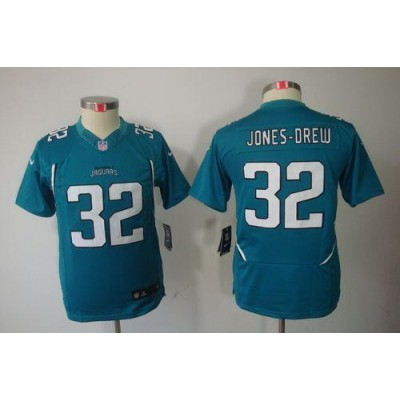 Youth Nike Jacksonville Jaguars 32 Maurice Jones-Drew Teal Green NFL Limited Jersey