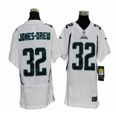 Youth Nike Jacksonville Jaguars 32 Maurice Jones-Drew White NFL Elite Jersey