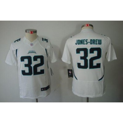 Youth Nike Jacksonville Jaguars 32 Maurice Jones-Drew White NFL Limited Jersey