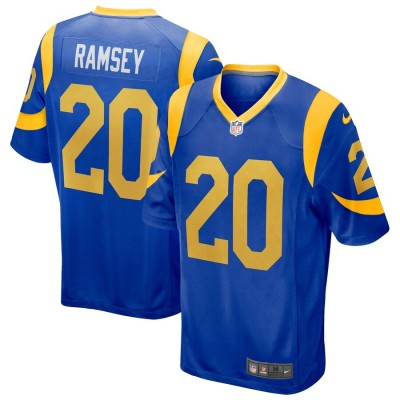 Nike Los Angeles Rams 20 Jalen Ramsey Royal  limited vapor jersey