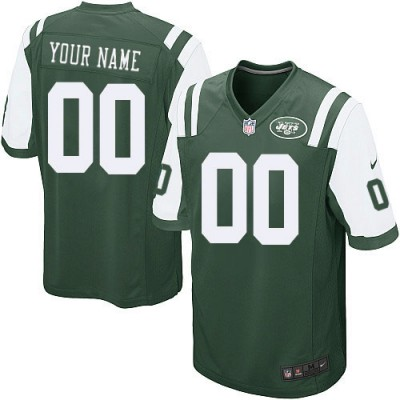 Nike New York Jets Customized Green Elite Youth NFL personalized Jerseys